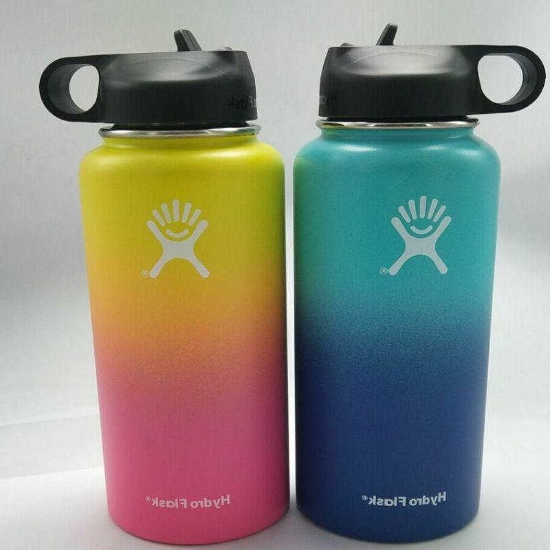 32 40oz insulated stainless steel wide mouth