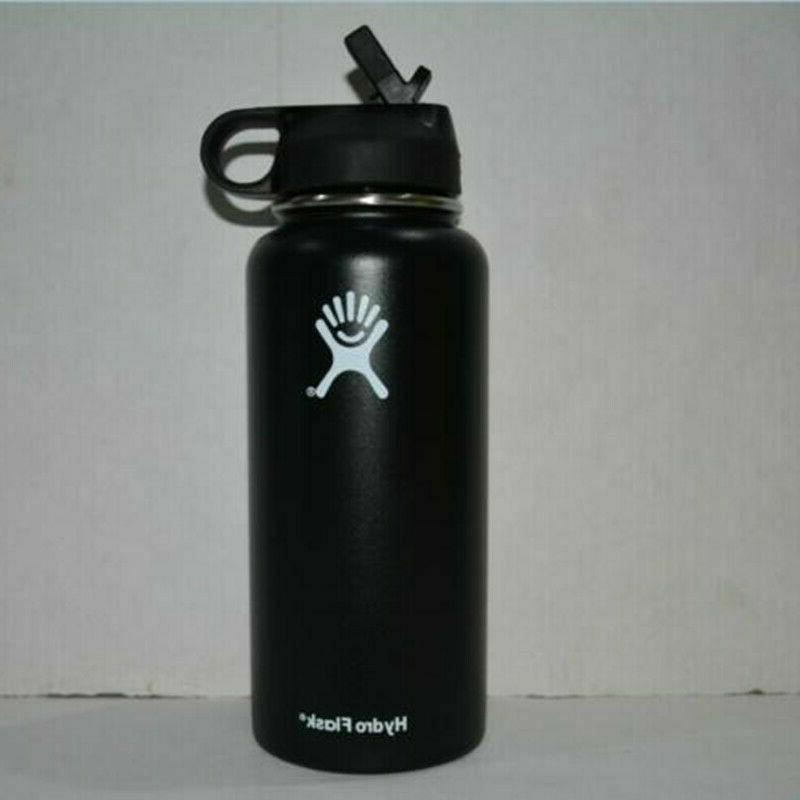 32/40oz Hydro Flask Water Bottle Wide Mouth Stainless