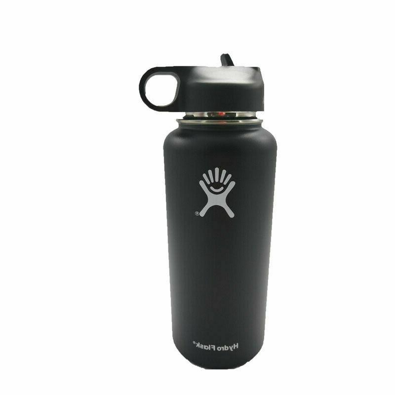 Hydro Flask Bottle with Straw Lid Insulated Stainless Steel Sport