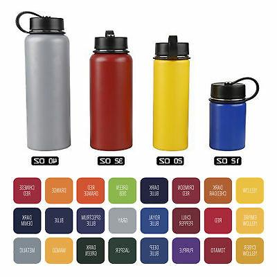 Tahoe Oz. Double Wall Vacuum Insulated Stainless Steel Bottle