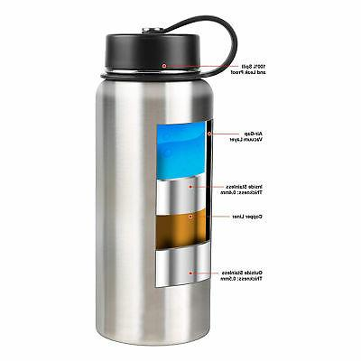 Tahoe Trails 32 Oz. Double Insulated Steel Bottle