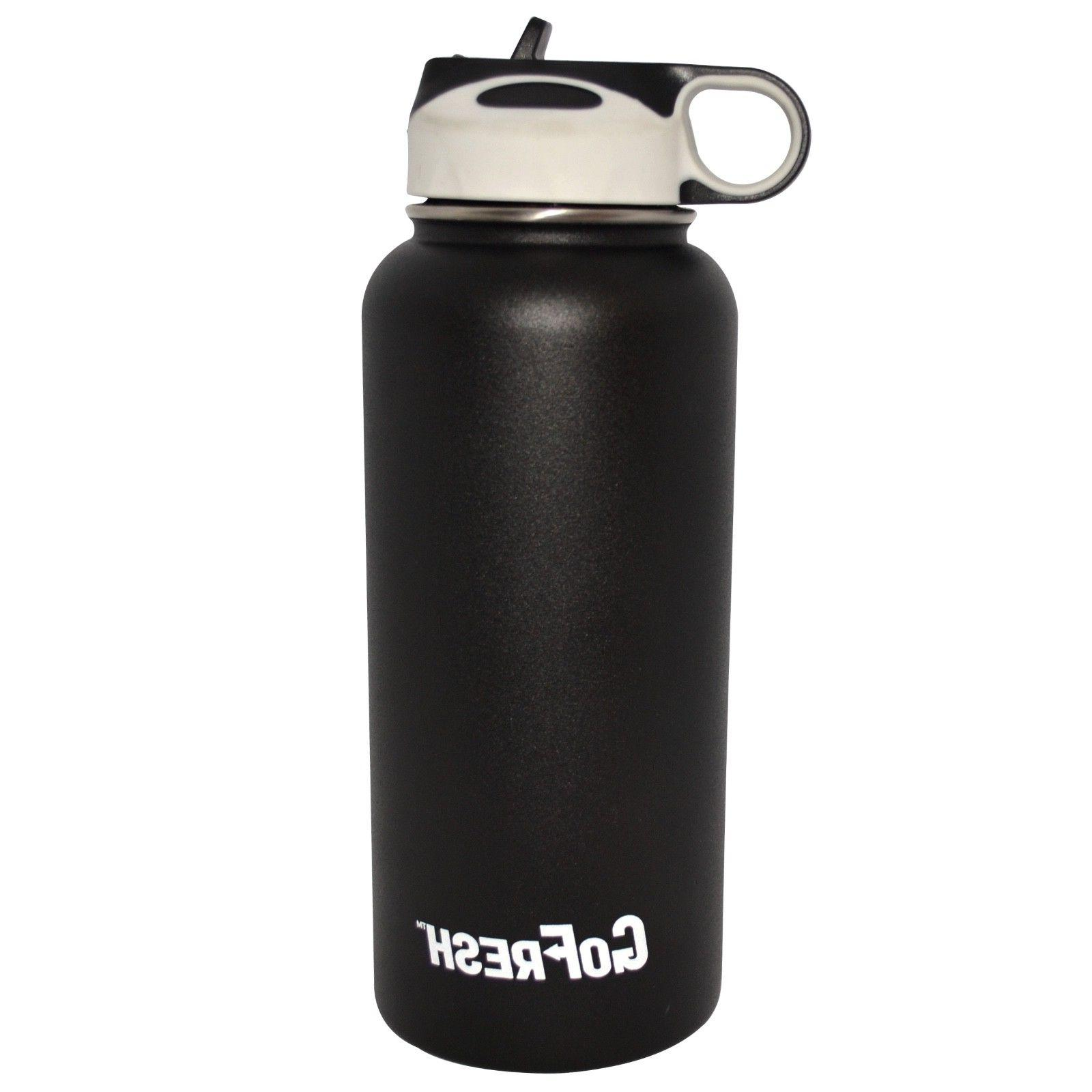 GoFresh 32 Steel Double Water Bottle &