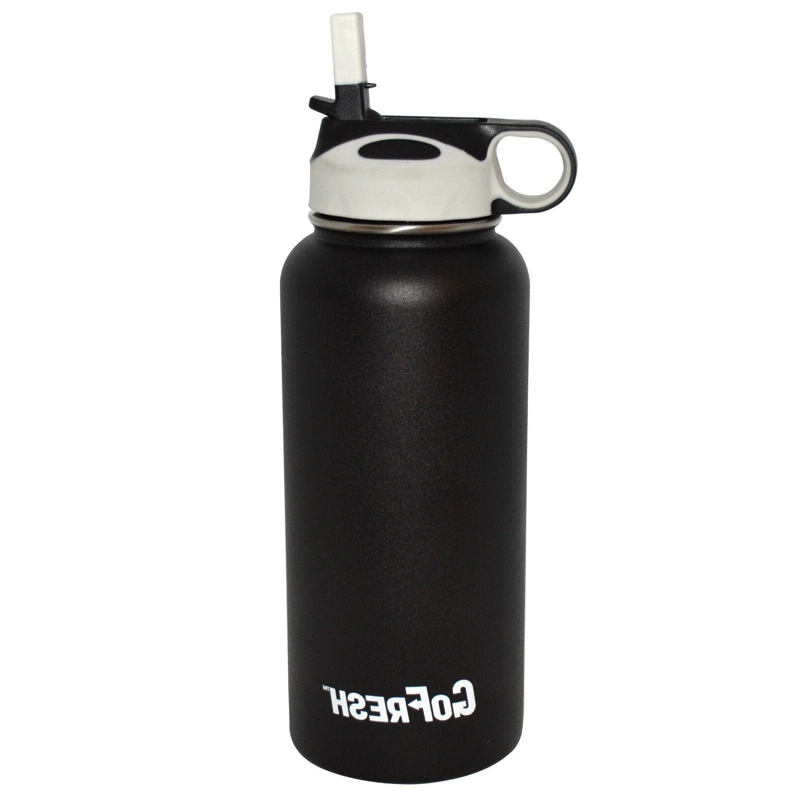 32 oz stainless steel 2 wall vacuum