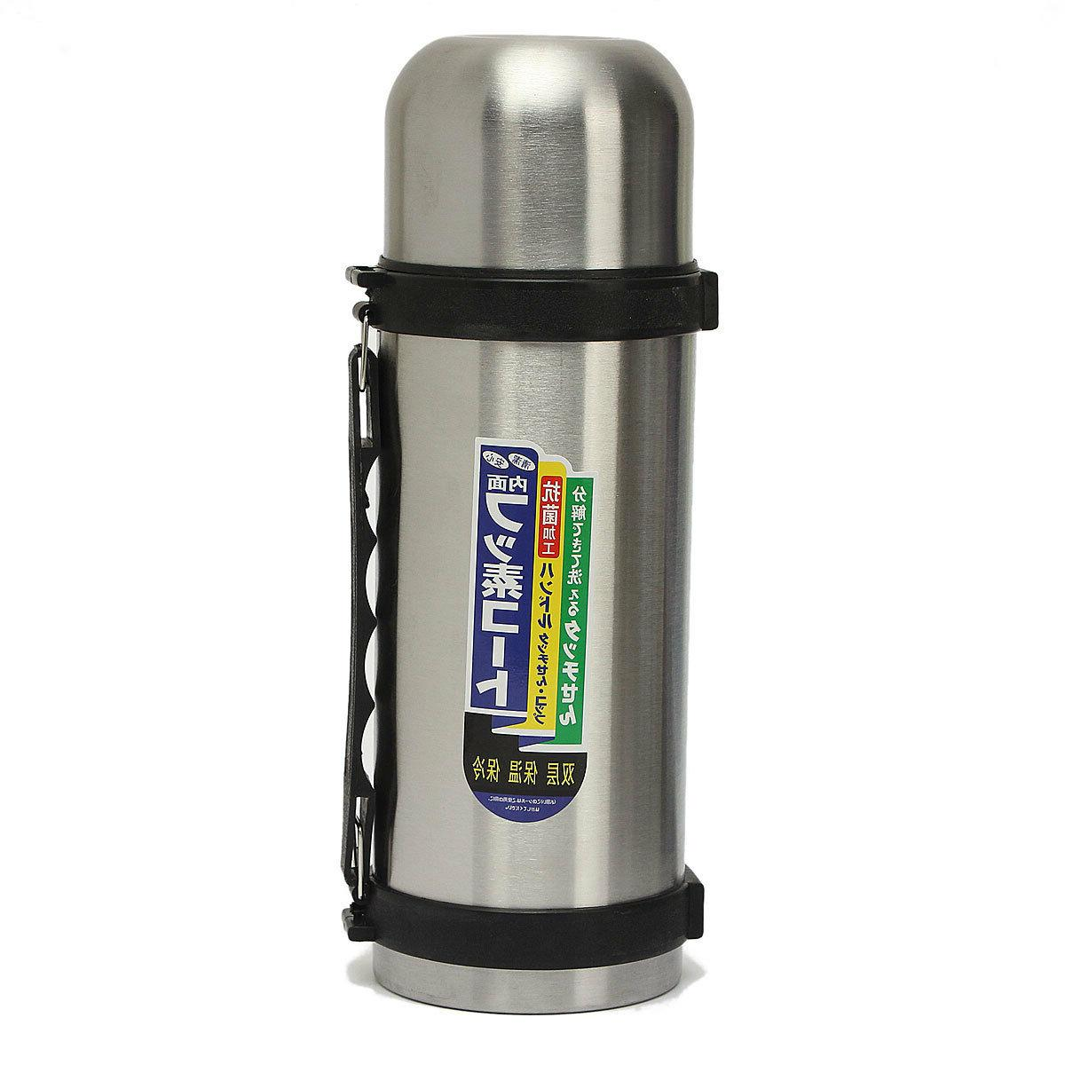 32 Oz Stainless Steel Vacuum Thermos - Portable Insulated Tr