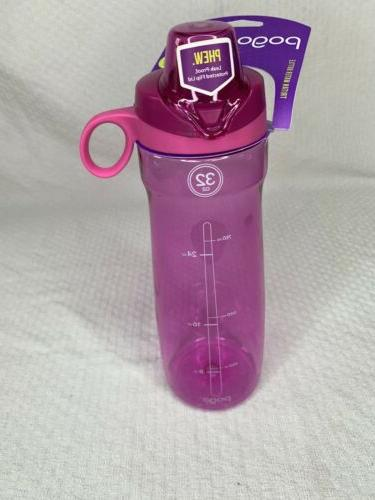 Pogo 32 OZ. Tritan Plastic Water Bottle With Chug Lid Color