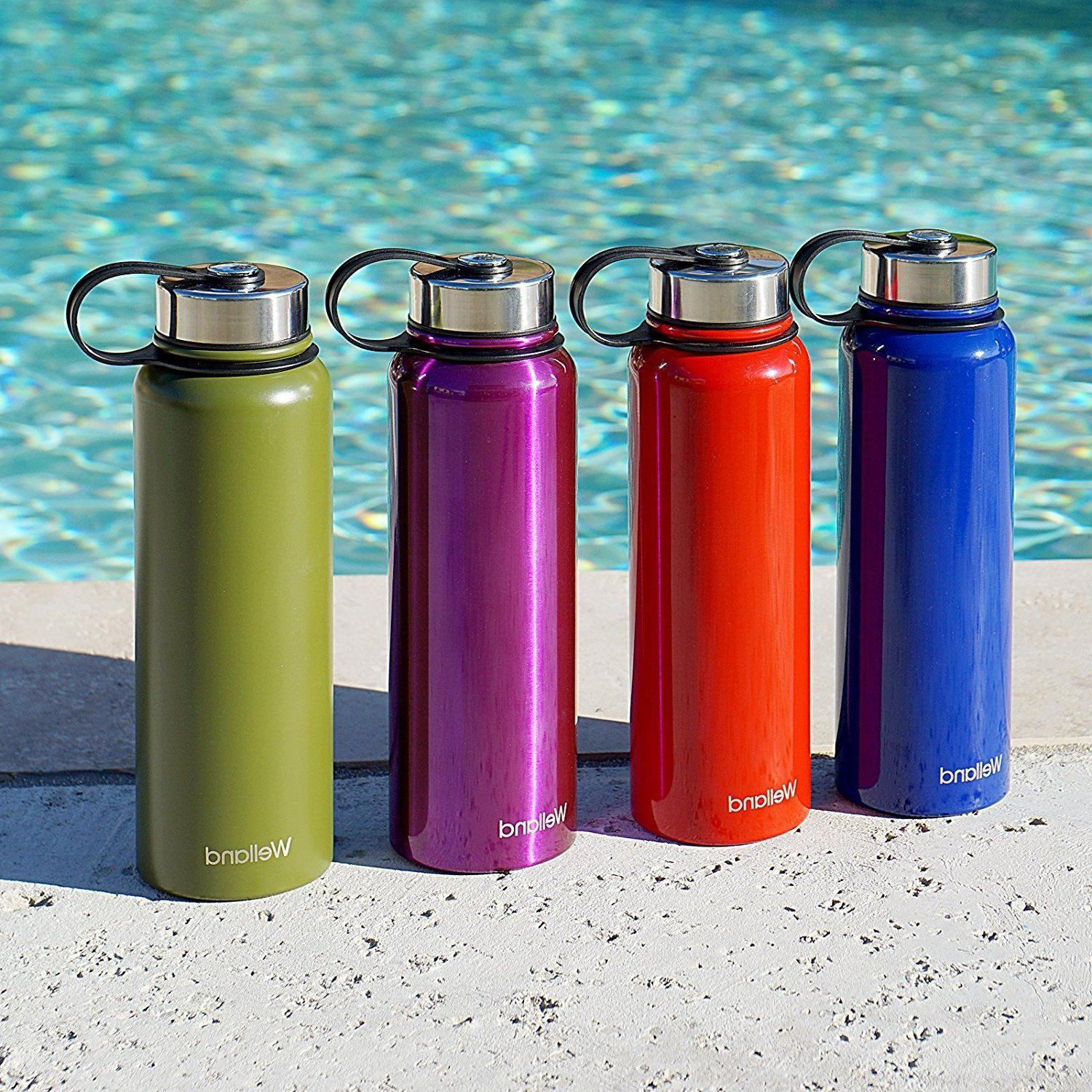 Hydro Water Bottle Blue 32oz Flask