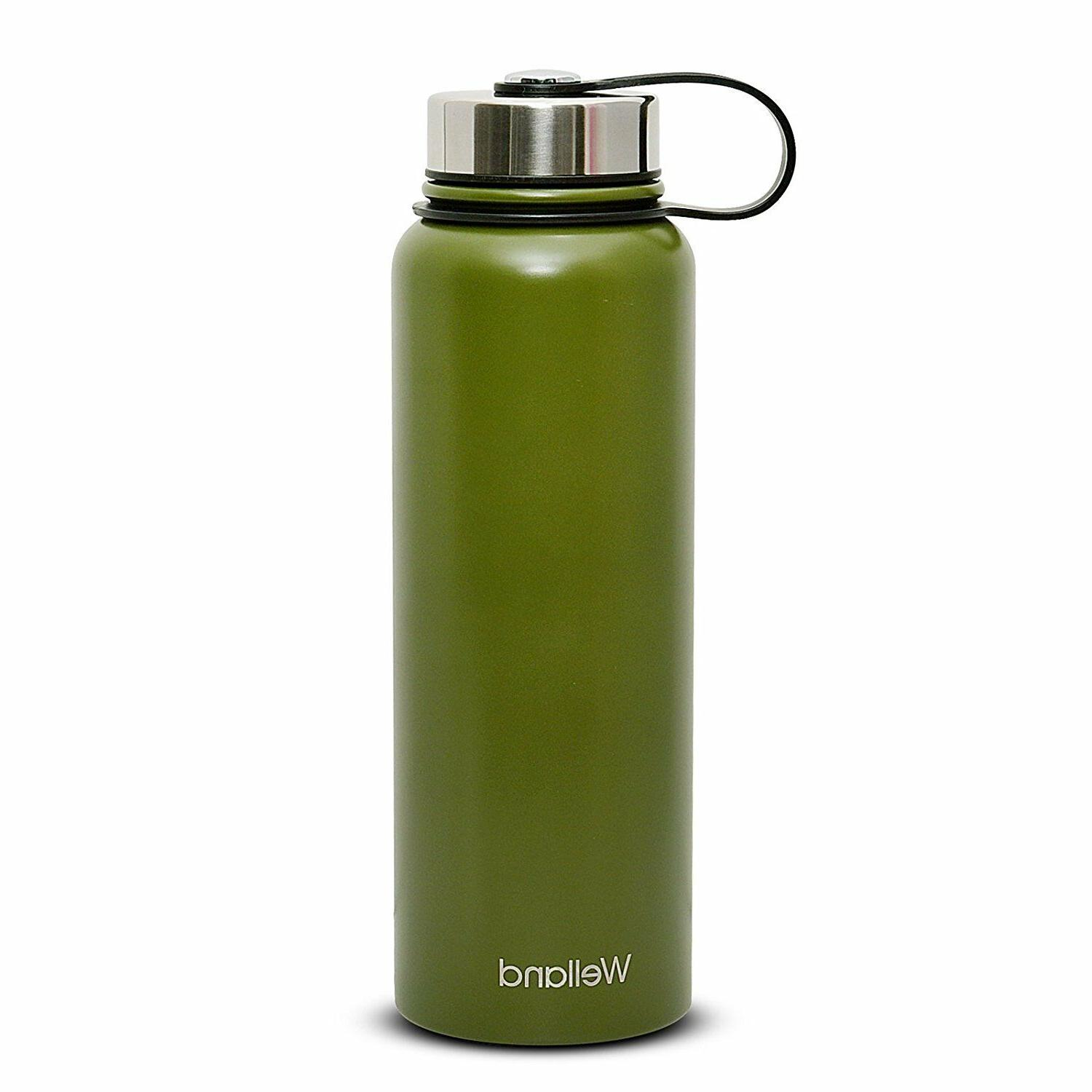 32 oz Bottle Vacuum Insulated Stainless Steel Green