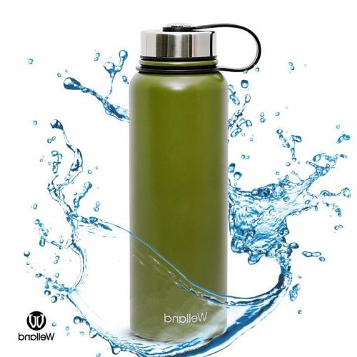32 oz Vacuum Insulated Stainless Steel Hot or Cold, Green