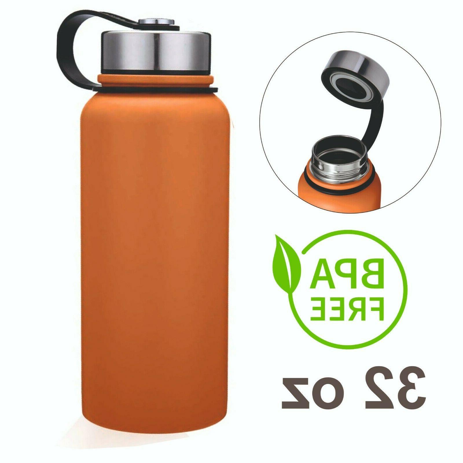 32oz double wall vacuum insulated stainless steel