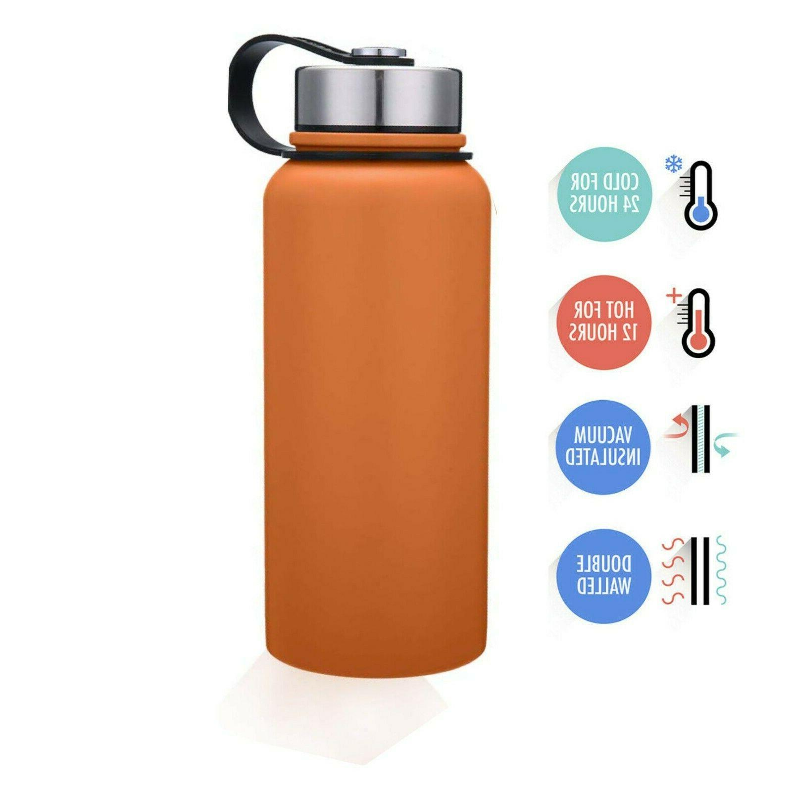 32oz Wall Insulated Steel Bottle