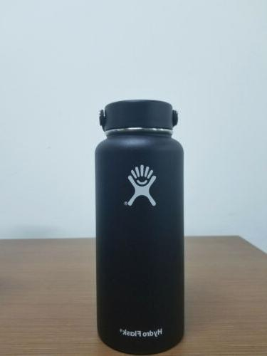 32oz Flask Cap Insulated Straw Lid Steel