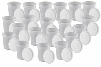 32oz Deli Containers Lids Freezer Meal Prep Pack