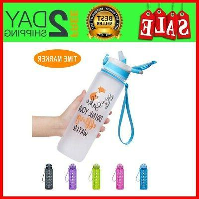 32oz leakproof tritran bpa free water bottle