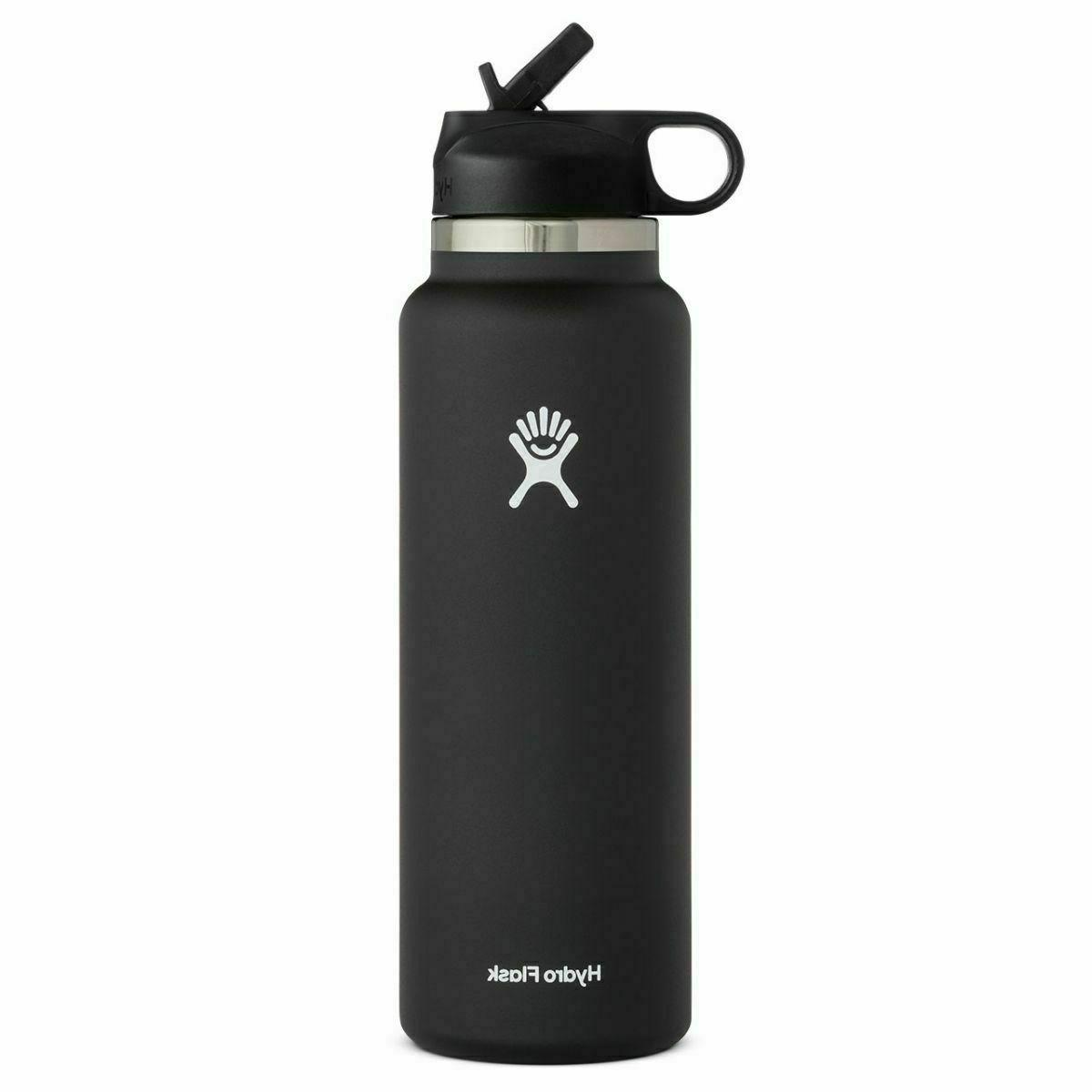 32oz Steel Bottle with Straw Lid