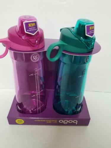 32oz tritan chug top water bottle 2
