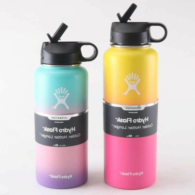 32oz vacuum insulated stainless steel water bottle