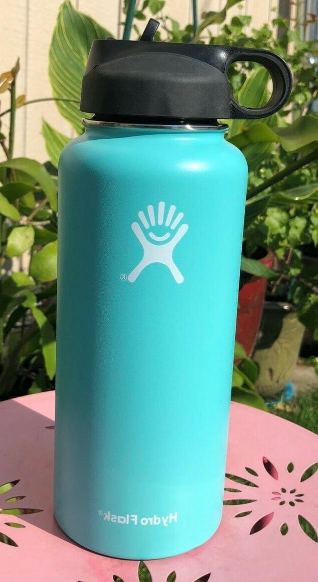 Hydro Flask 32OZ -Water Bottle Stainless Steel with Straw Li