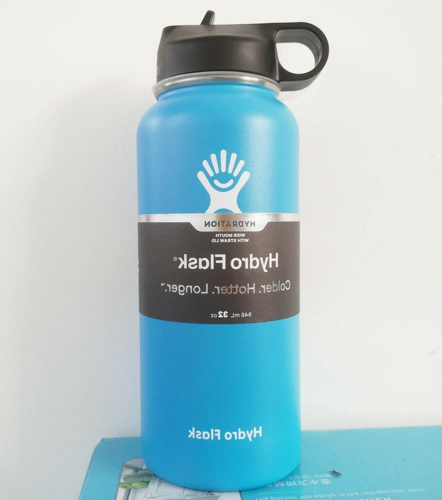Hydro bottle Stainless & with Straw Lid 5 select