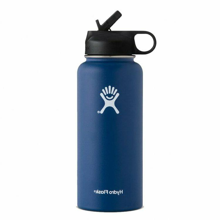 Hydro 32OZ Mouth Stainless Steel Bottle With Up