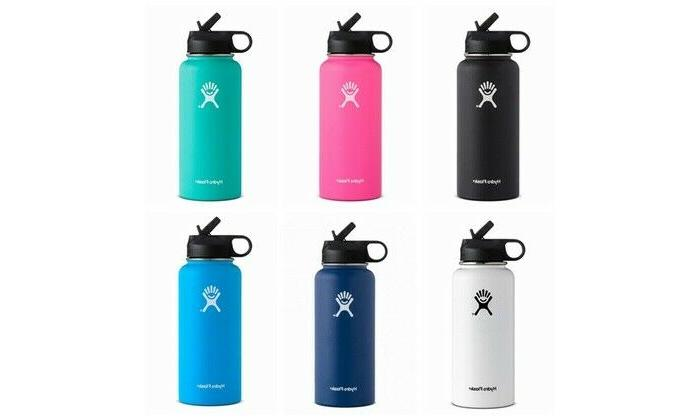 32oz wide mouth stainless steel bottle