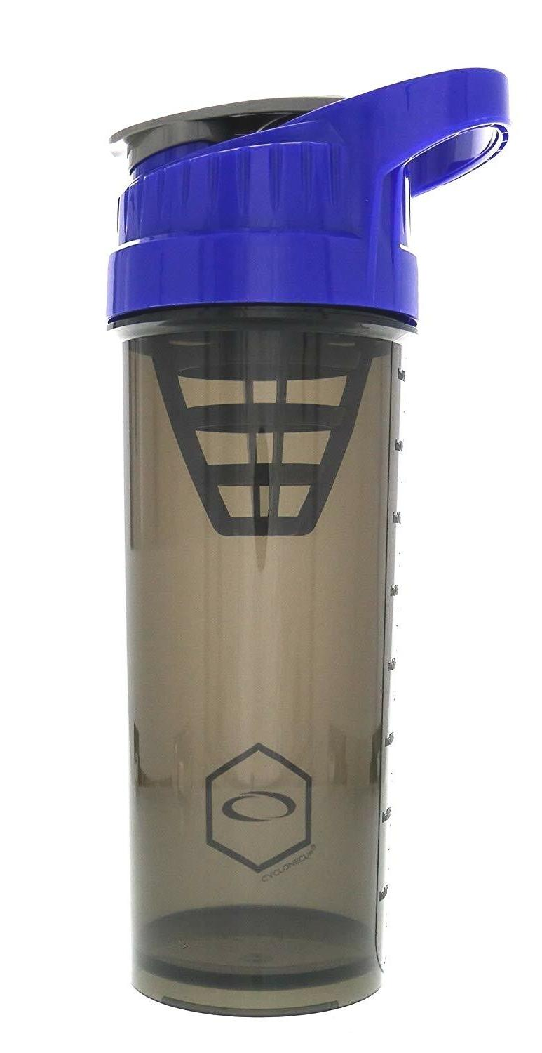 CYCLONE CUP Blender Mixer Bottle Protein Shaker with Carry H