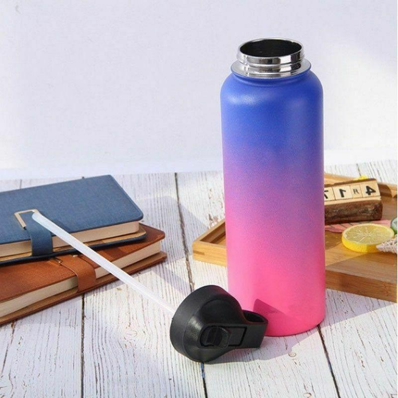 Flask Stainless Water Wide Mouth With