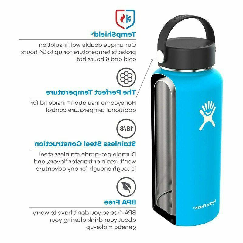 Frost Flask Stainless Water Insulated Wide 40oz