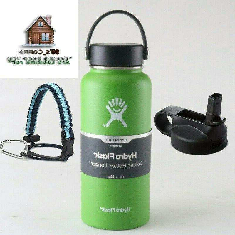 Hydro 32/40oz Wide Mouth Stainless Steel Water Bottle Vacuum