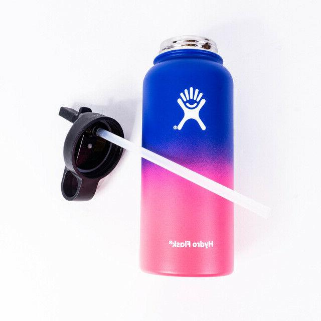 Hydro Flask 32oz Vacuum Insulated Thermos Stainless Straw