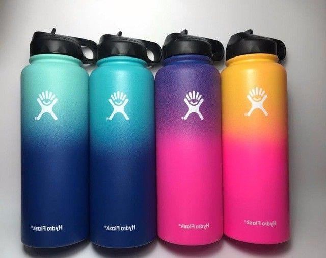 Hydro Flask Insulated Stainless Mouth with Straw Lid