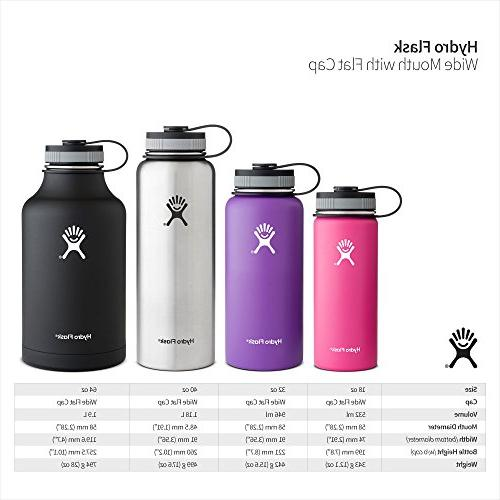 Hydro Mouth Stainless Steel Bottle, 32-Ounce