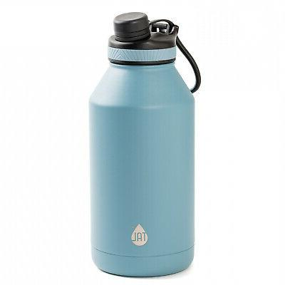 Large Bottle Double Wall Insulated Mouth Black