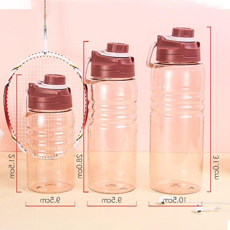 Large Capacity Sport Water Bottle Outdoor Drinking Durable BPA Free <font><b>OZ</b></font>