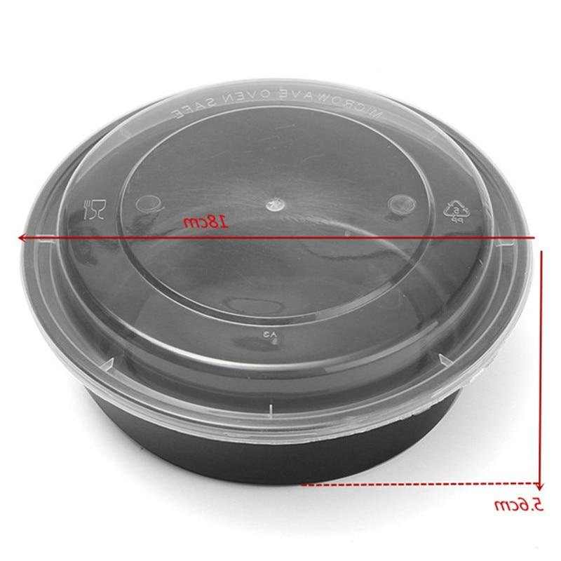 Newest 1 Compartment <font><b>OZ</b></font> Boxes Microwavable Meal Container Tableware