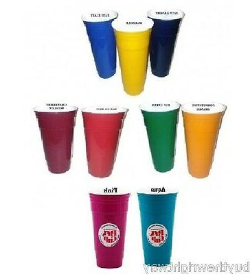 Party Cup XL 32oz Double Wall Reusable BPA Free Plastic Solo