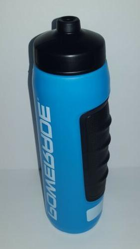 Powerade Power Grip Squeeze Bottle, Cyan,