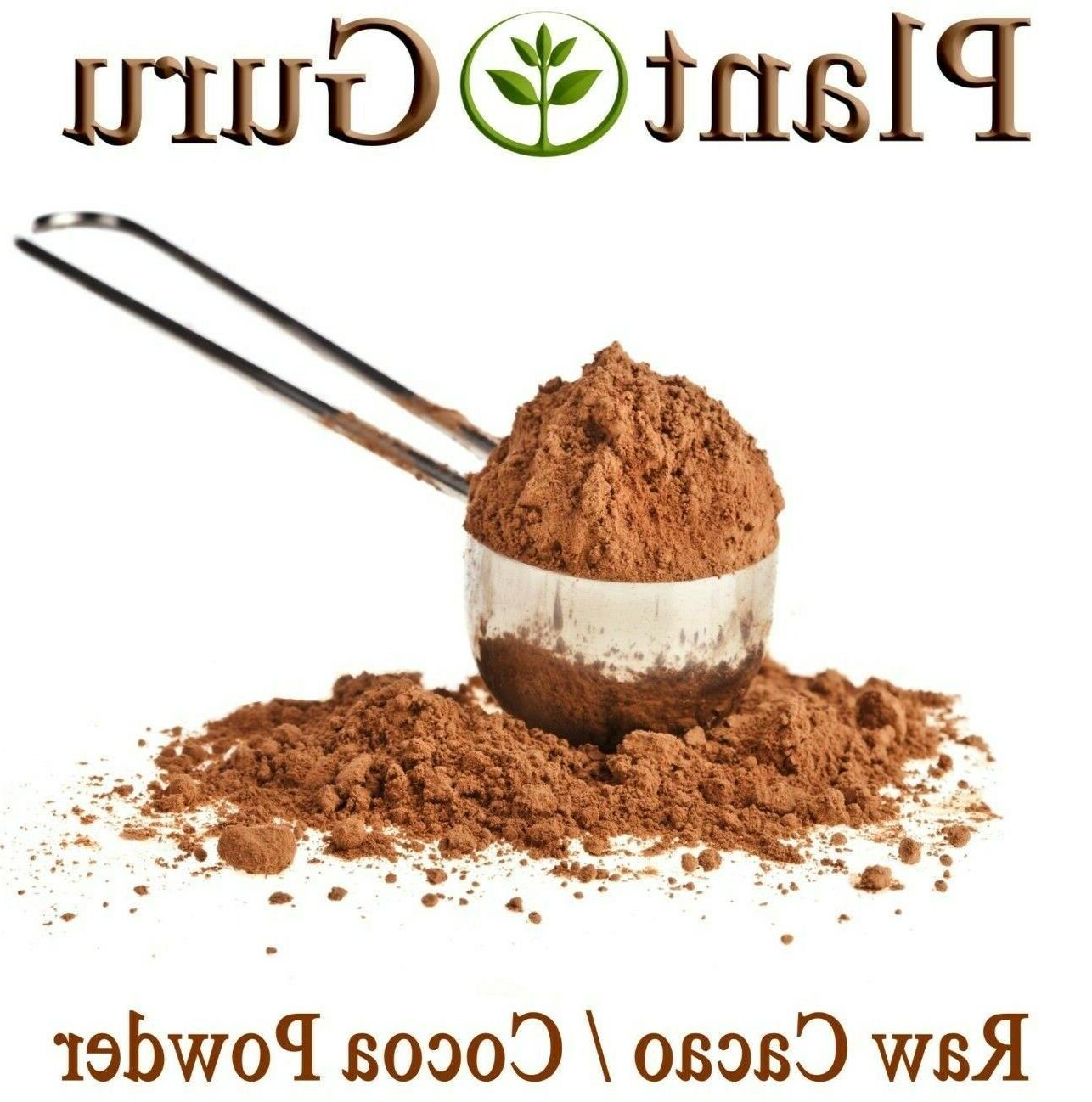 raw cacao cocoa powder 100 percent bulk