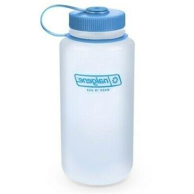 Nalgene 32 oz Reusable Water Bottle, HDPE, in Wide Mouth