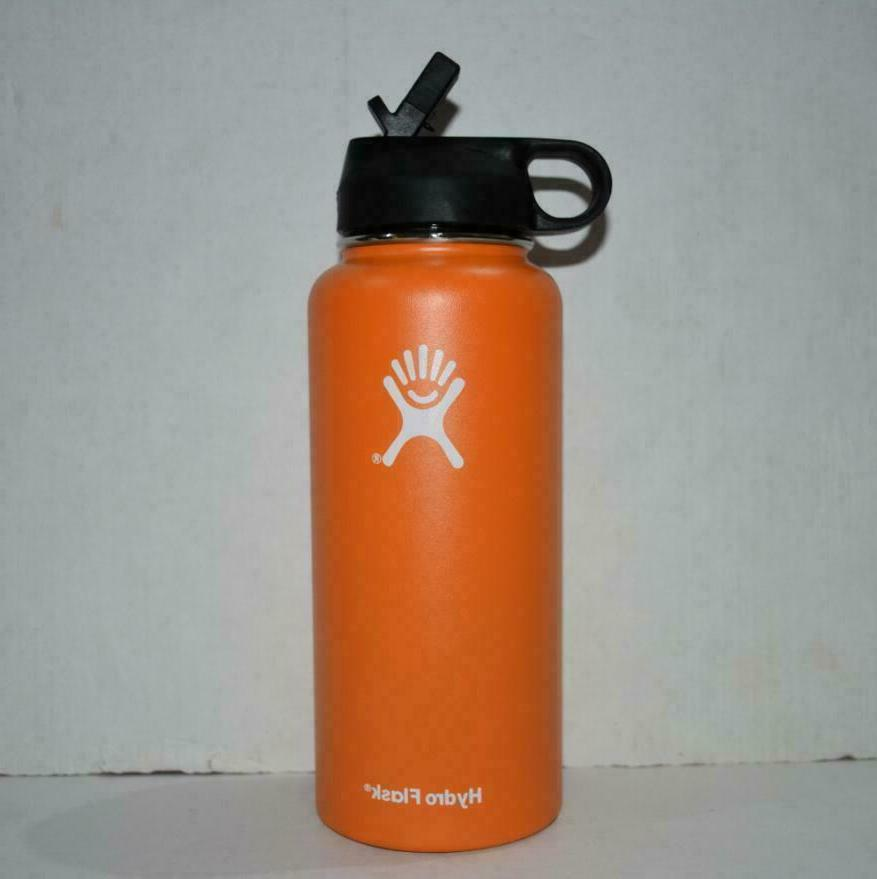 Hydro Water Thermos Straw Lid Drinking US
