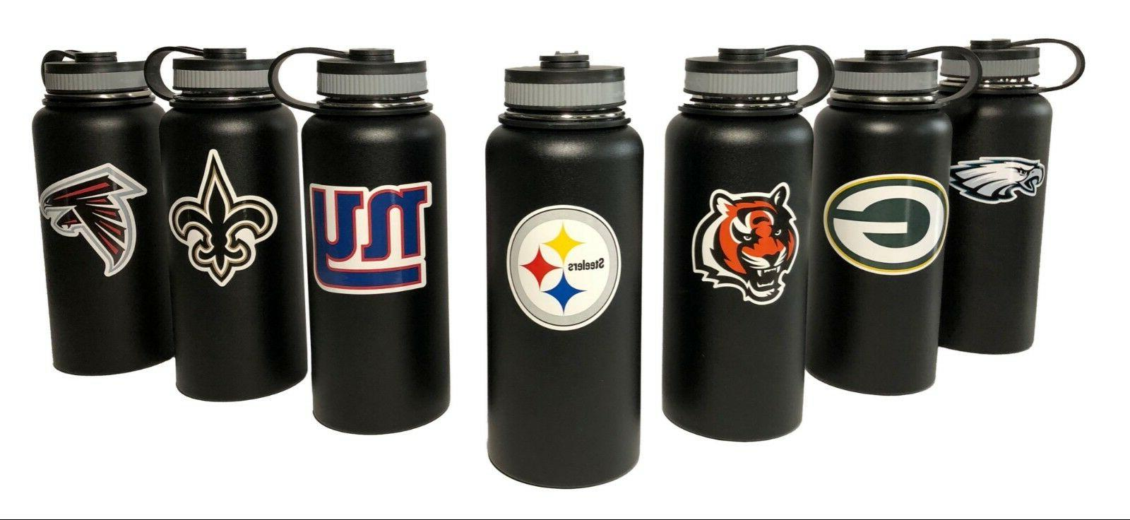 Stainless Steel Water Bottles. 32oz.& 40oz Vacuum Insulated.