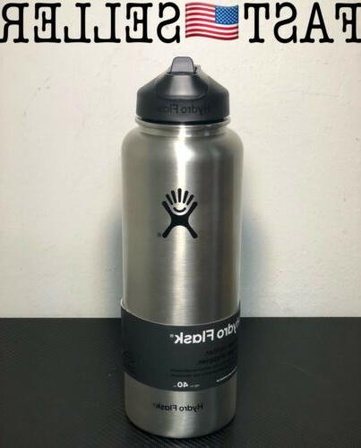 vacuum insulated stainless steel bottle wide mouth