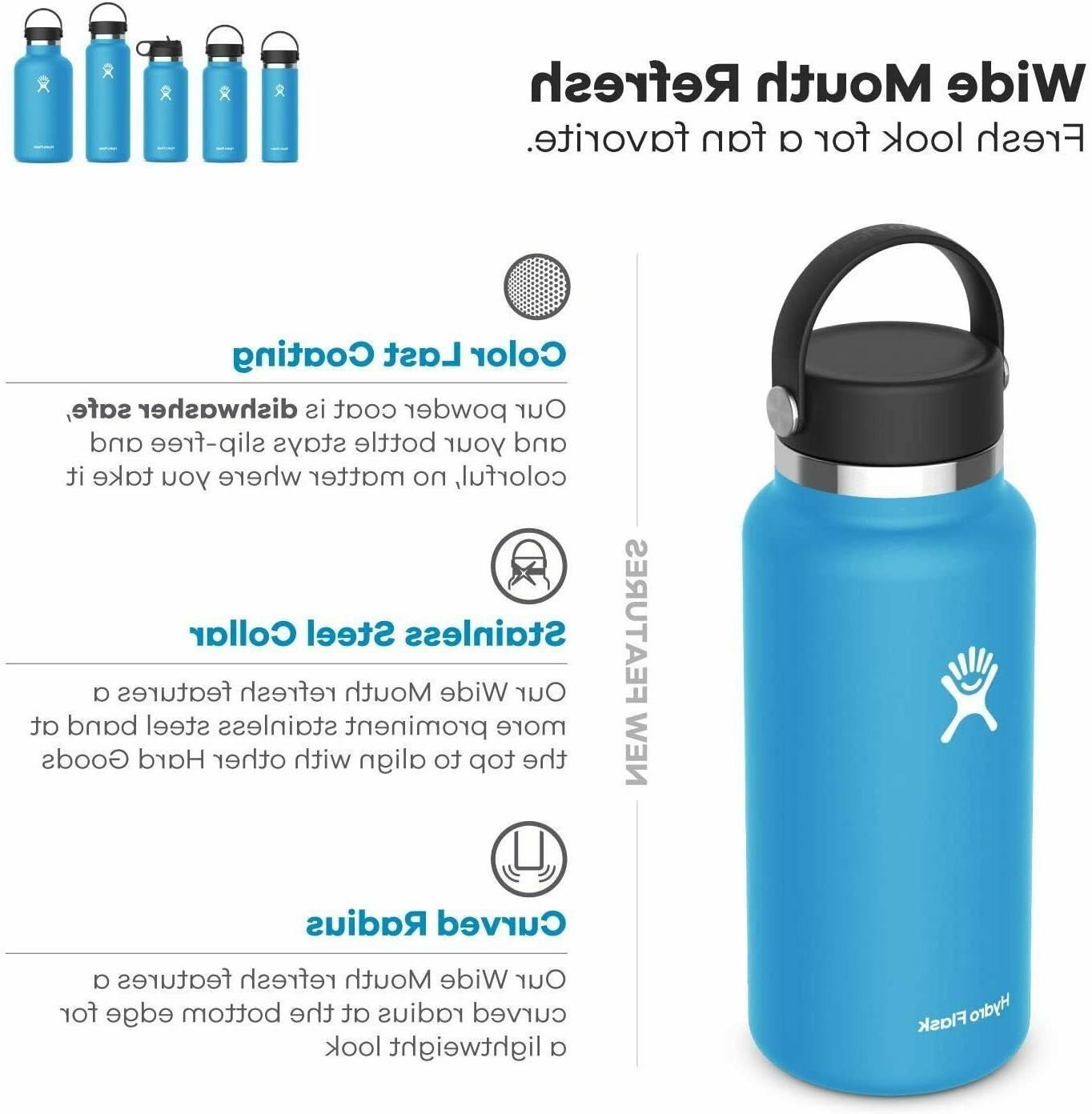Hydro Water 32oz. Mouth Stainless Steel