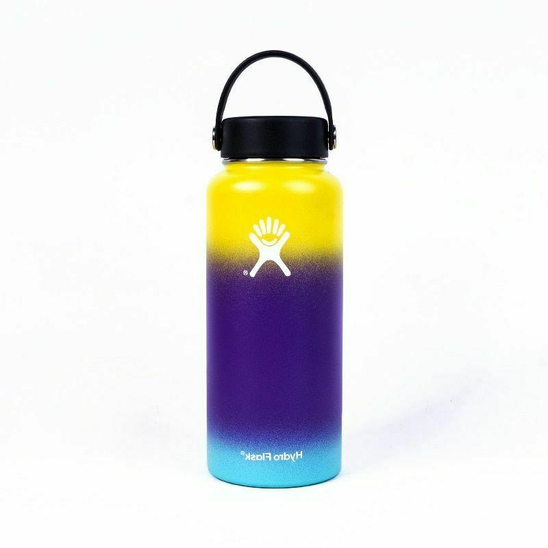 water bottle 32oz vacuum insulated thermos stainless