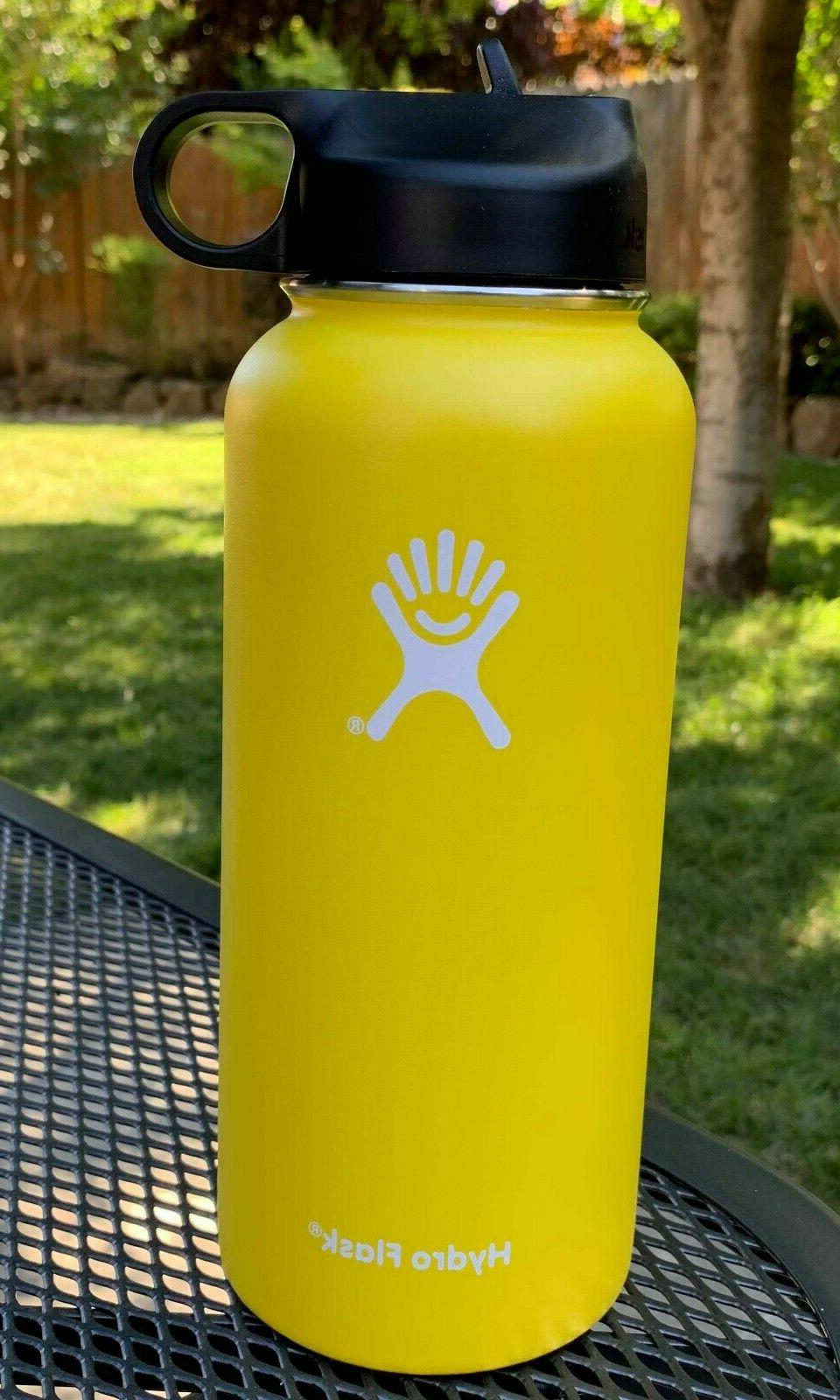 Hydro Flask Bottle Stainless Insulated Straw OZ