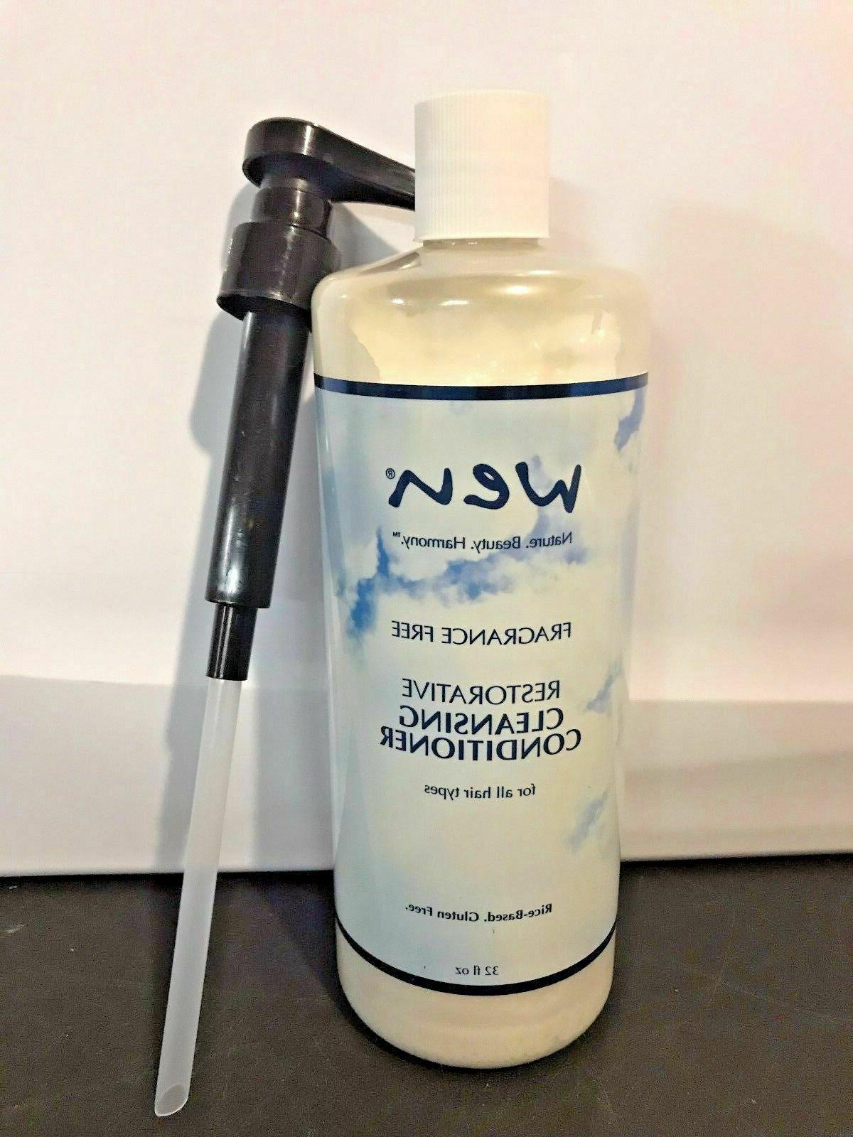 wen 32oz cleansing conditioner sealed with pump