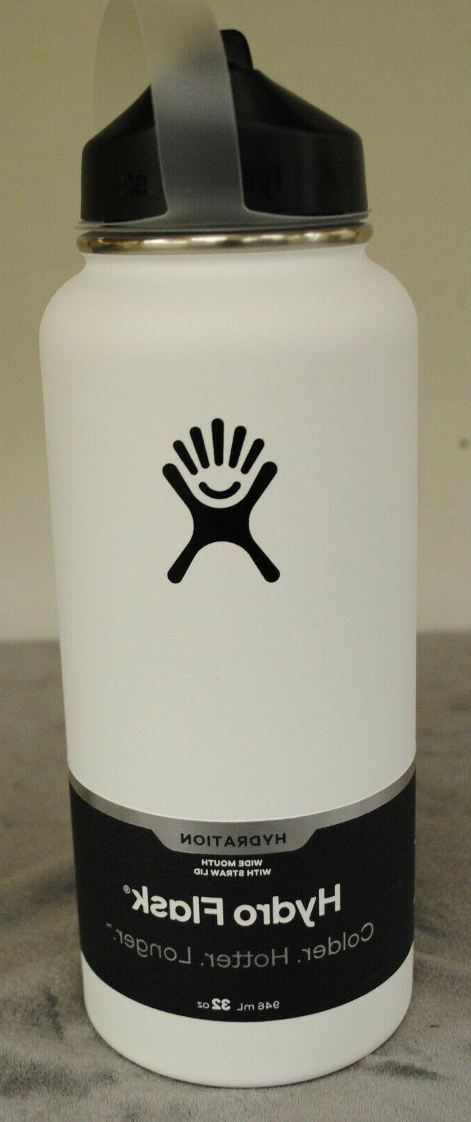wide mouth 32 oz white new free