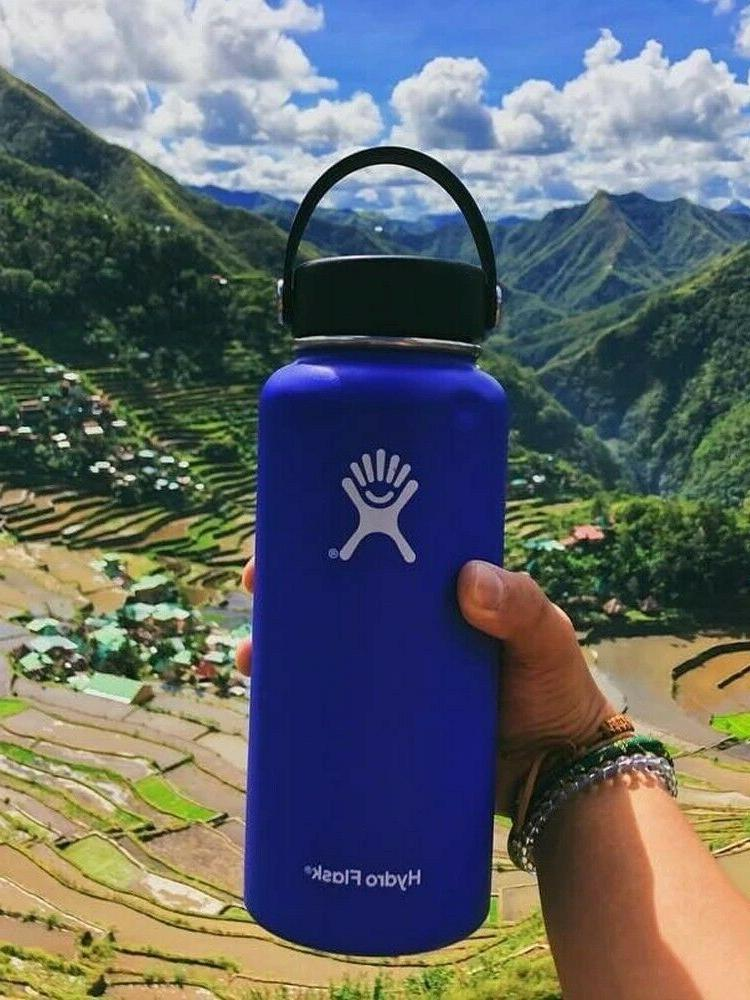 Hydro Flask Mouth Stainless Bottle With Flex 40oz