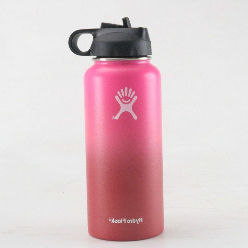 Hydro Flask Wide Mouth Stainless Steel Bottle Cap Multicolor 18/32/40oz