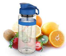 Largest Infused Water Bottle 32 OZ BPA Free gym office work