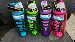 Lot of 4 Bottles Cool Gear Solstice Water Bottle with EZ-Fre